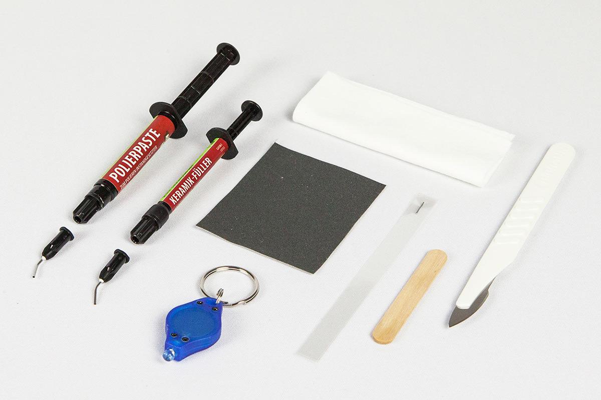 Kit di riparazione per pietra naturale picobello shop - Fliesen locher reparieren ...