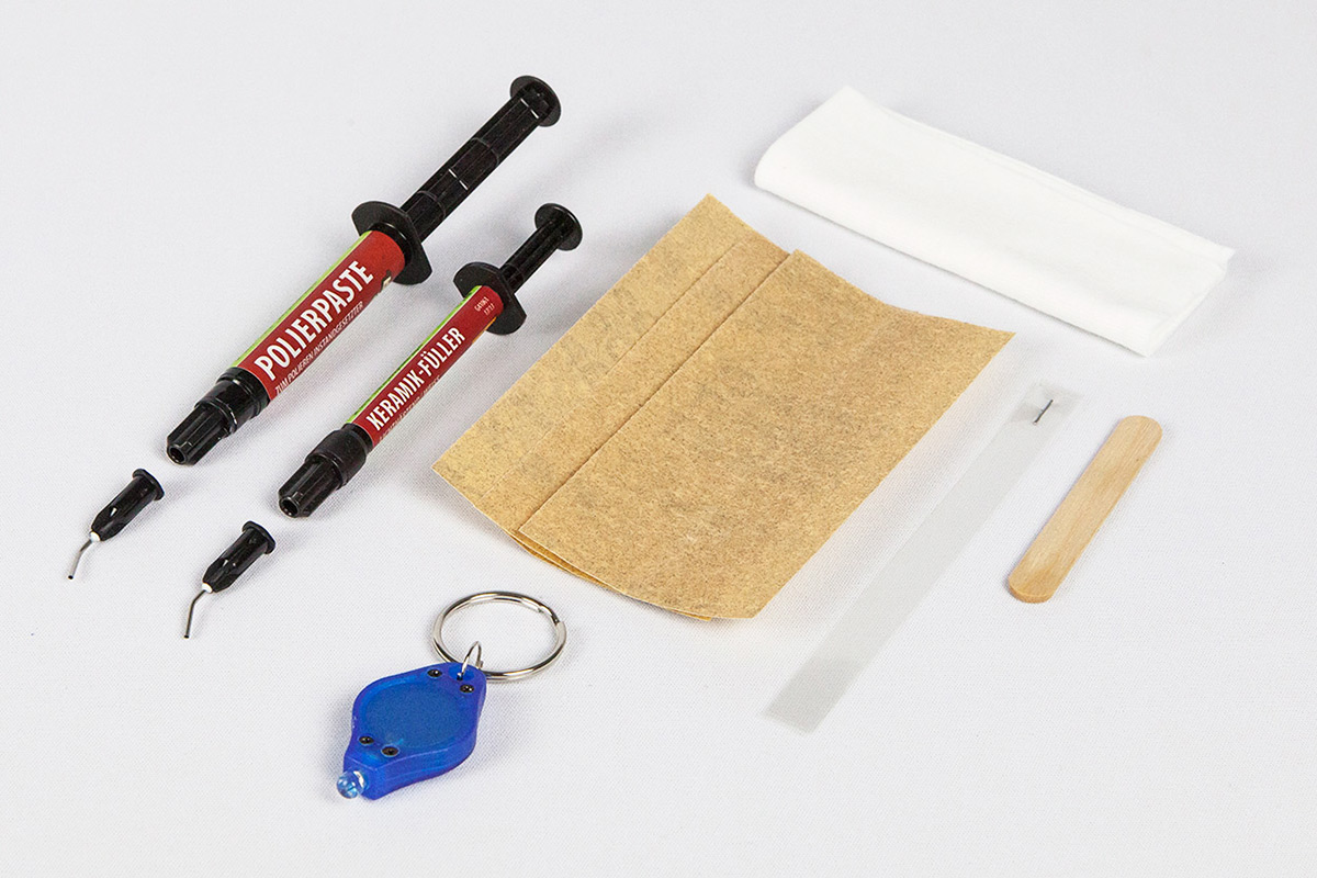 Kit di riparazione per sanitari ceramica picobello shop for Stucco per piastrelle