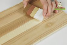 Graffi sul parquet verniciato laminato picobello shop for Kit riparazione parquet